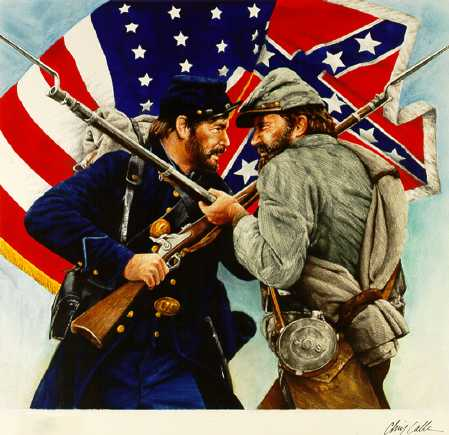 American Civil War Confederate