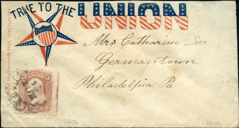 The Union War as Expressed by Civil War Patriotic Letter Envelopes